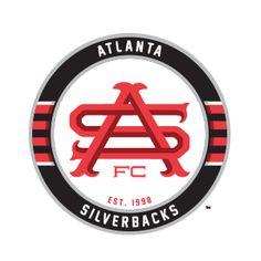 8 Atlanta Silverbacks Ideas Atlanta Dekalb Historical Logo