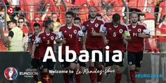See you in France, Albania! Congratulations! #EURO2016
