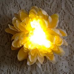 Paper or fabric flower, LED, battery, headband (or wrist or whatever) Flowers In Hair, Fabric Flowers, Africa Burn, City Style, Man Style, Flower Costume, Burning Man Fashion, Festival Costumes, Feathered Hairstyles