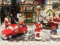 Adordorable scene featuring D56 Snow Village