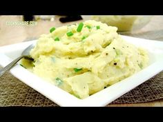 Mashed Potatoes with Spring Onions (Champ) - YouTube