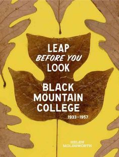 Leap before you look : Black Mountain College, 1933-1957