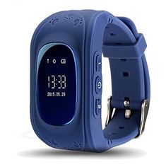 GPS Tracker Watch Pater Joy Children SOS Smart Watch Support Micro SIM and Voice Chatting Remote monitoringCall Location Device Tracker for Kid Safe AntiLost MonitorDark Blue >>> Click image for more details. (This is an affiliate link) Stylish Watches, Cool Watches, Watches For Men, Casual Watches, Luxury Watches, Gps Tracker Watch, Android Watch, Swiss Army Watches, Sport Watches