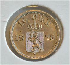 10 øre 1875 kv0