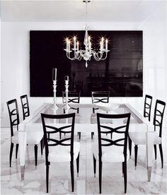 In black & white. Repinned via Miss Millionairess via ~KKD ~