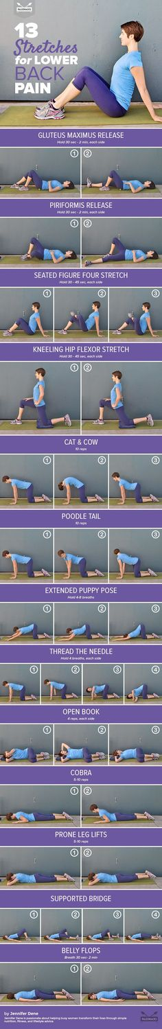 Relieve your lower back pain with these gentle yet effective…