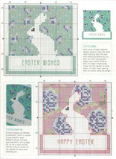 Easter  - free cross stitch pattern