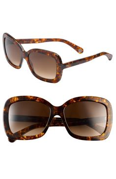 D Thick Glam Sunglasses
