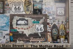 A little taste of some Route 66 culture for you.