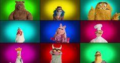Nicht dass die Muppets vorher das Theme nicht schon selbst gesungen hätten, aber jetzt singen sie es anders Hier jedenfalls nochmal zum Vergleich das originale Intro, falls ihr euch erinnert.