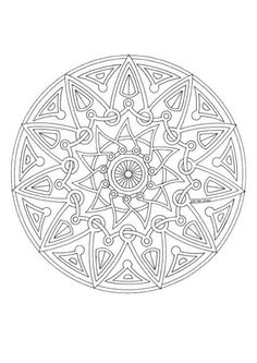 Detailed Coloring Pages For Adults | ... the Mandala 143, you will find so much more coloring pages for free