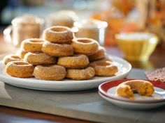 Get this all-star, easy-to-follow Baked Pumpkin Doughnuts recipe from Valerie Bertinelli