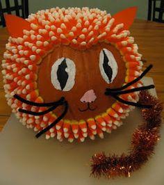 such a cute pumpkin! Great idea for pumpkin contest. Halloween Pumpkins, Halloween Crafts, Holiday Crafts, Holiday Fun, Halloween Decorations, Pumpkin Decorations, Halloween Ideas, Halloween Stuff, Halloween 2013