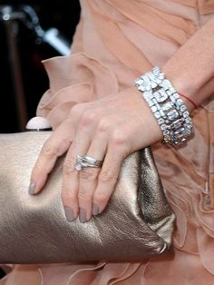 Celebrity Wedding Rings Weddings Engagement Ring Pictures Demi Moore Glitters Editor Beauty Products Jewlery Jewelery