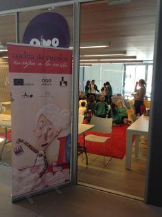 """""""Europa a la carta"""", otra de las actividades desarrolladas en el inicio de """"Cocina de Cuentos"""" en la Casa del Lector de Madrid."""