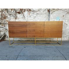 Floating Base 3 Door Credenza by CMW