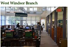 Take a look inside of our West Windsor Branch
