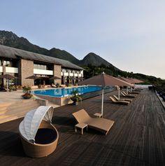 Sankara Hotel & Spa in Yakushima, Japan.