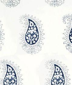 Lydia McCauley - Quieting: Soft Bleu, Romantic India Style