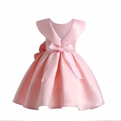 """""""The Princessa Collection: Fairy"""" Girls Fancy Dress Red Flower Girl Dresses, Baby Girl Party Dresses, Little Girl Dresses, Baby Dress, Girls Dresses, Toddler Pageant Dresses, Kids Dress Wear, Kids Gown, Baby Frocks Designs"""