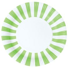 Apple Green Party Plates (Set of 12)