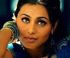 Rani Mukerjee. My Indian obsession  she's so perfect.