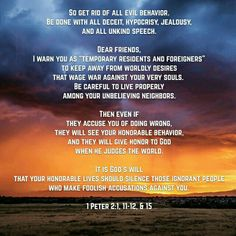 Do you have people spreading rumors about you?  Want to shut them up?  DON'T say anything about it...  Just live your life how God tells you to, as listed here....  The truth will be shown... They will be silenced. As God tells us here.