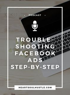 So your Facebook Ads stopped converting (or never started)?  Let me walk you through my tried and true troubleshooting process and get those ads into fighting shape.