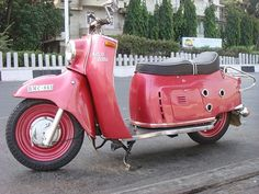 The Maicoletta motor scooter of the 1950s was one of the largest motor scooters produced by any manufacturer until the modern era.