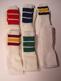 Tube socks.. I remember these for gym glass.