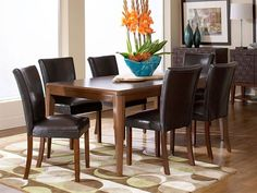 Beaumont Rectangle Dining Table and chairs