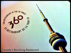 360 The Restaurant at the CN Tower, one of Toronto's finest, features unforgettable food combined with a magnificent revolving view of Toronto more than 351 metres (1,151 ft) below. 360 offers market-fresh cuisine, featuring regional ingredients to ensure an incomparable culinary experience. http://www.cntower.ca/en-ca/360-restaurant/overview.html