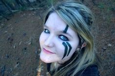 Just felt like trying out a skyrim war paint style today. I do Not own Skyrim. Nikon D3100