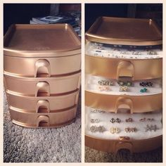 52 new ideas jewerly organizer diy drawer tips 52 new ideas jewerly organizer d. - 52 new ideas jewerly organizer diy drawer tips 52 new ideas jewerly organizer diy drawer tips - Earring Storage, Jewellery Storage, Jewellery Display, Jewellery Boxes, Necklace Storage, Bridal Jewellery, Jewellery Stand, Gold Jewellery, Makeup Storage