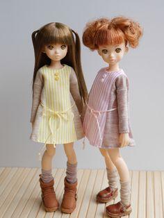 japanese Rurukodoll. She is little sister of momoko doll.