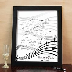 Sara??? Personalized Signature Canvas Frame - Happy Melody (Includes Frame) - AUD $ 60.64