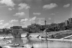 ZONA NACIONAL.- Madrid, 7-4-1937.- Puente de Segovia destruido por los republicanos. (Pié original) Efe/jt