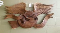 Just added this in the shop today.it's a huge ships transom Burlap Wreath, Eagle, Ships, Woodworking, Ads, Shopping, Vintage, Instagram, Home Decor