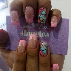 Fingernail Polish Designs, Nail Designs, Ruby Nails, Magic Nails, Top Nail, Cute Nail Art, Nail Spa, Christmas Design, Pedicure