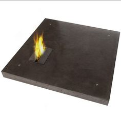 CONCRETE COFFE TABLE AND BIOETHANOL FIREPLACE