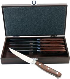 Berghoff Steak Knife Set with Gift Case (6 PC)