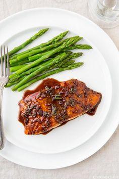 Balsamic Glazed Salmon   Cooking Classy