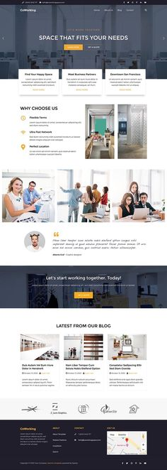 The Hot Coworking #responsive #business #Joomla template is designed for the websites for companies that offer coworking space. Joomla Templates, Coworking Space, Business, Hot, Design, Store, Business Illustration