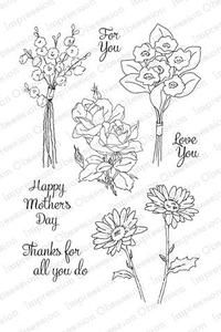 Impression Obsession Cling Stamps, Spring Medley Set -Becky has this...