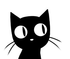 Cat Sees and Knows ALL! Animiertes Gif, Animated Gif, Cat Anime, Black Cat Appreciation Day, Cat Template, Alien Drawings, Animal Gato, Kitten Photos, Dancing Cat