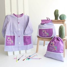 Baby Dress, Diaper Bag, Apron, Kids, Clothes, Fashion, Kids Fashion, Embroidered Gifts, Dresses For Babies