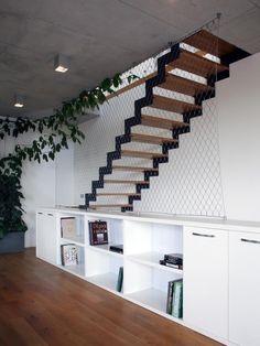 Moderne riešené schodisko