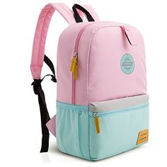 Pink MOMMORE Cute Unicorn Kids Backpack with Insulated Lunch Bag for Girls 2 Piece Set