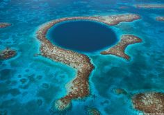 Blue Hole Natural Monument, Belize by Robert B. Haas