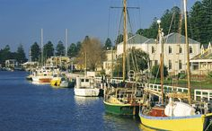 This is one of Australia's most historically intact towns, with over 50 buildings protected by the National Trust of Australia. Port Fairy